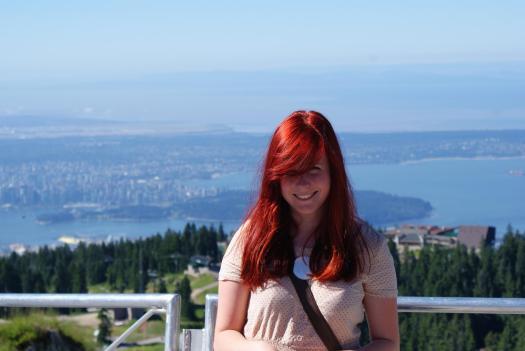 Malin Jönsson. Bilden är tagen i Vancouver, Kanada sommaren 2012.