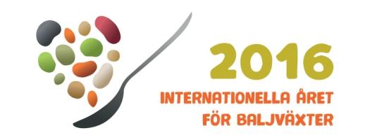 logotype FN:s år för baljväxter