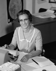 Katherine Johnson på Nasa 1966